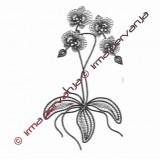 508901 - Orchid - 34 cm