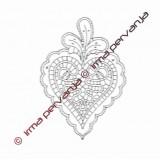 115001 - Heart - 17 cm