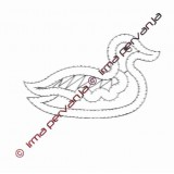 116301 - Duckling - 14 cm
