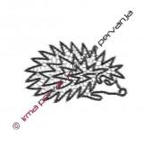 117401 - Hedgehog - 15 cm