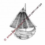 109801 - Pequeño bote - 14 cm