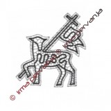 122203 - Velikonočno jagnje - 14 cm