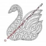 100802 - Swan - 13 cm