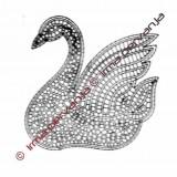 100803 - Swan - 17 cm