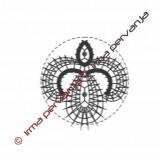 131201 - Motivo inserto en círculo - 7 cm