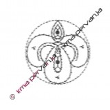 131205 - Motiv za obročke - 7 cm