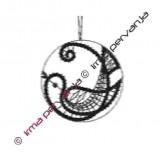 134504 - Motivo inserto en círculo - 7 cm