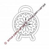136101 - Clock - 16 cm