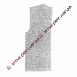 303502 - Brezrokavnik - 2x - 1/2 zadnjega dela - 29 x 65 cm
